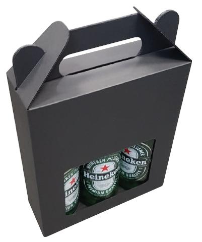 182*61*230mm   Bierkoffer 3 fles