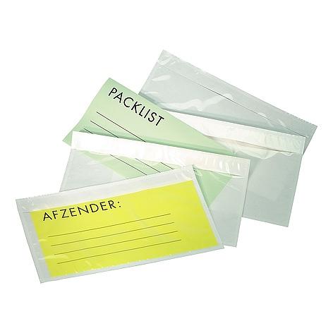 Paklijst A4 310*210 Blanco
