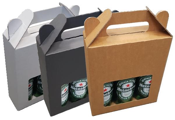 182*61*230mm   Bierkoffer 3 fles zonder biervilten